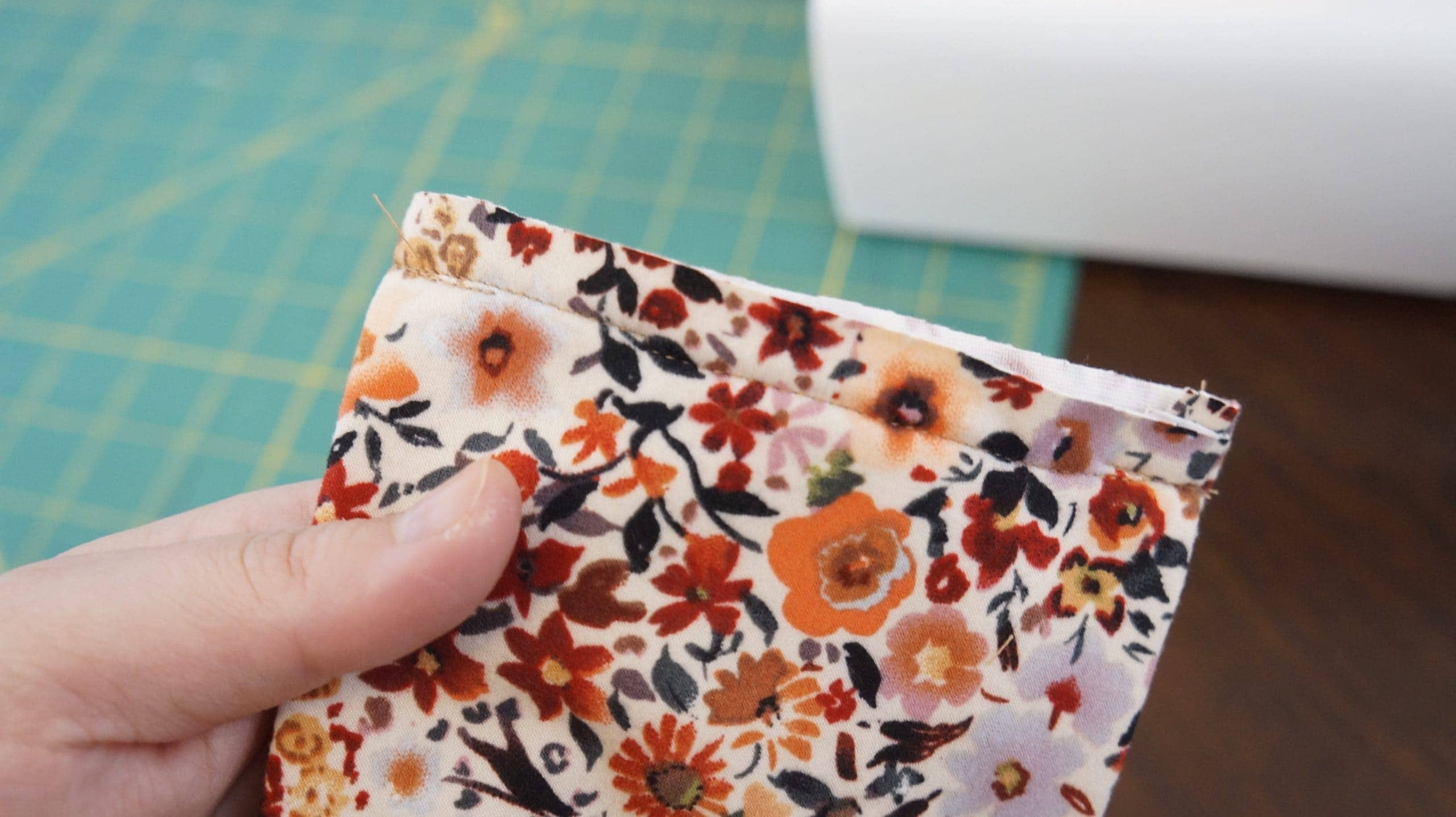 flower pattern sewing fabric