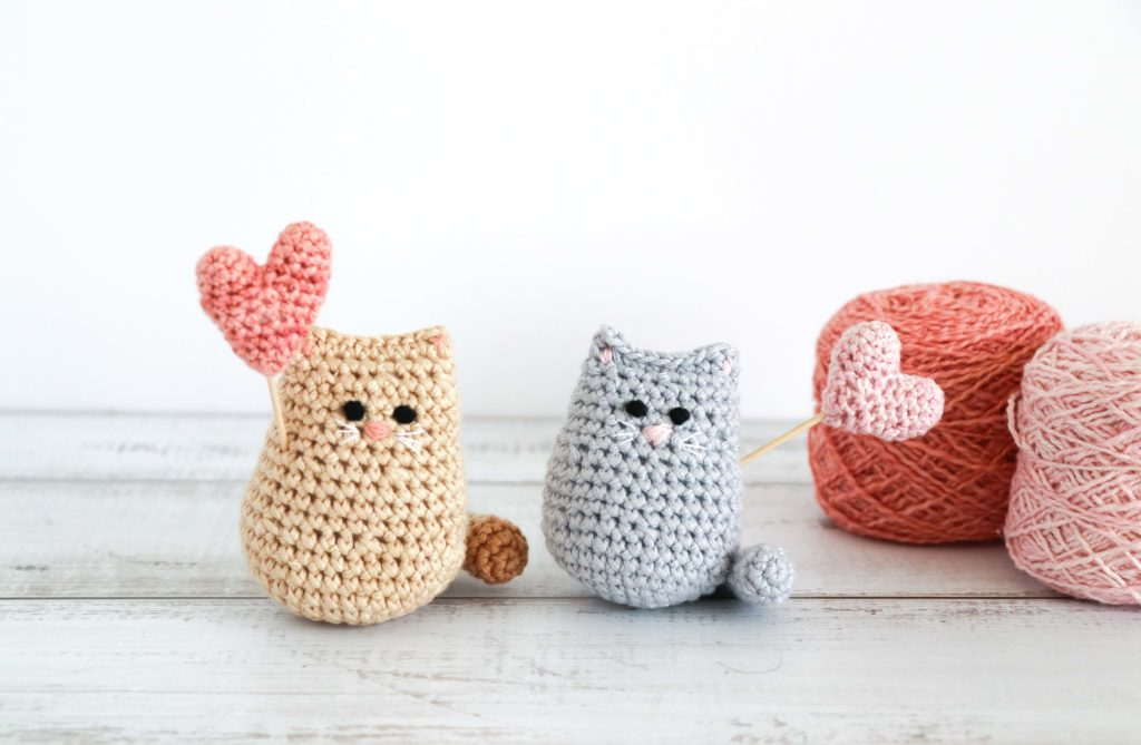 cat amigurumi dolls