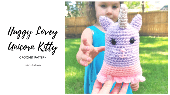 crochet unicorn kitty