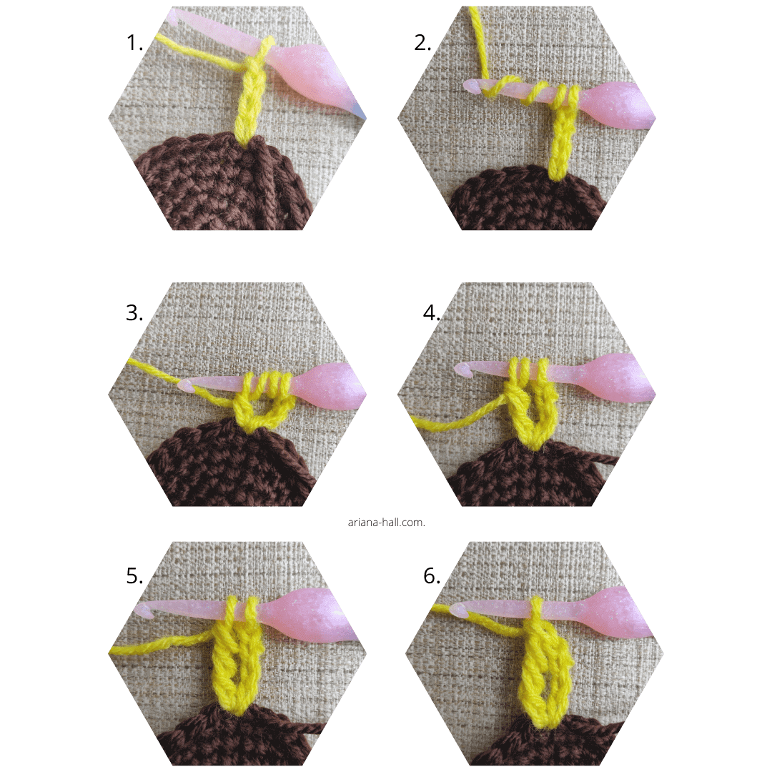 step by step crochet techniques