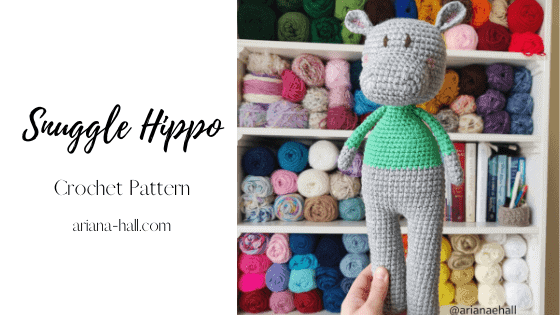 Featured image of a crochet hippo.